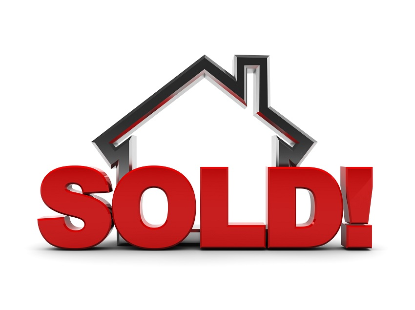 850x635 House With Sold Sign Clip Art 850x