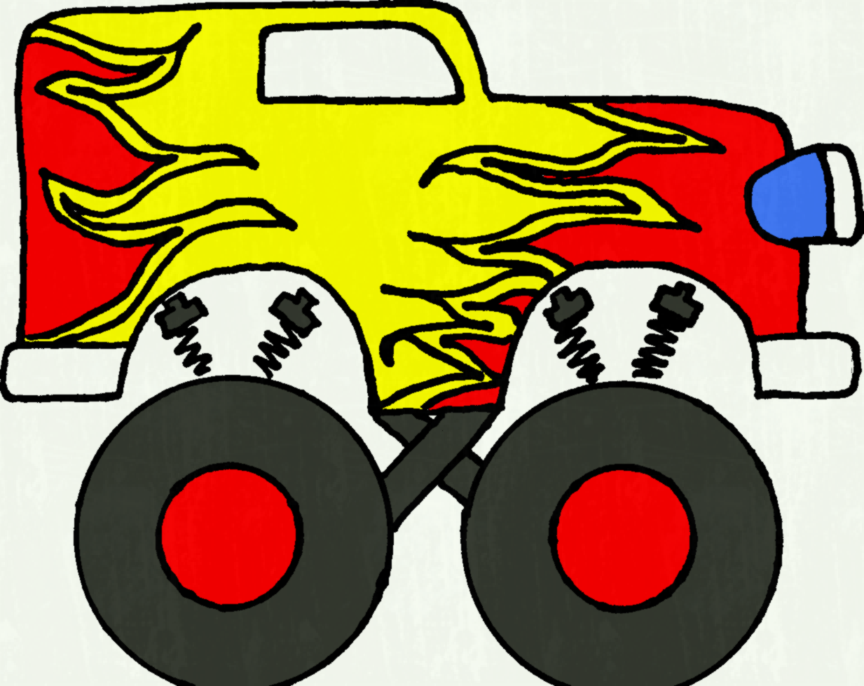1233x979 Monster Truck Clip Art Pictures Free Clipart Images Wikiclipart