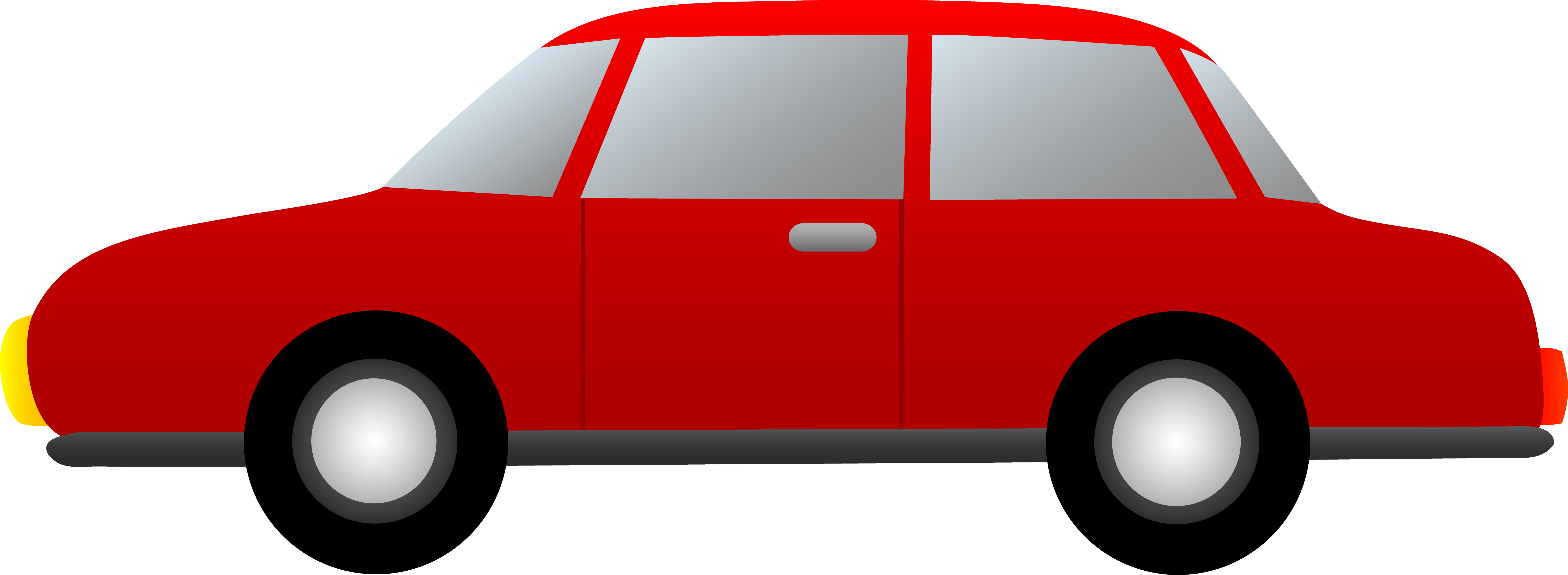 7122x2615 Pick Up Truck Cliprt. Preview Clipart Caucasian Man Driving