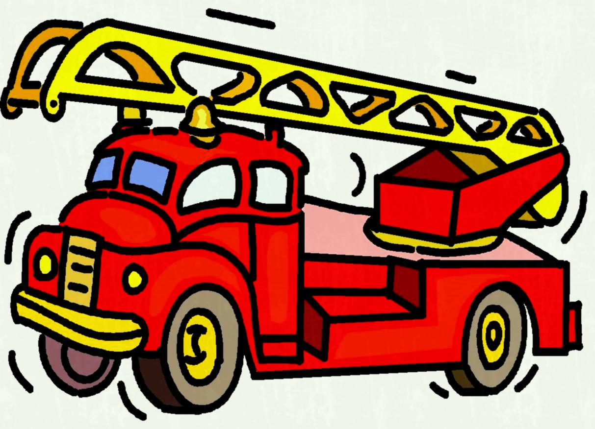 1213x876 Animated Fire Truck Clipart Library Free Pictures Download Clip