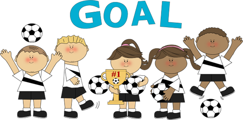 500x247 Soccer Goal Clipart Soccer Team Clipartsoccer Team With Trophy