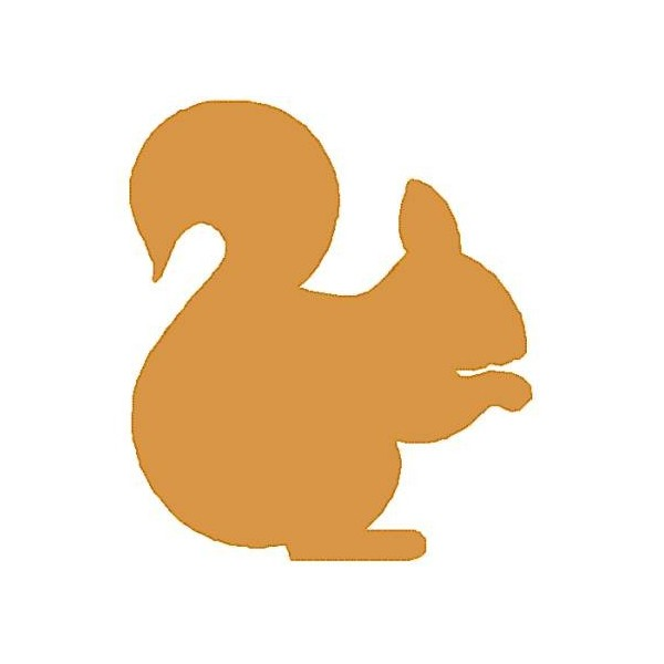 600x600 Squirrel Silhouette Clip Art Clipart Panda