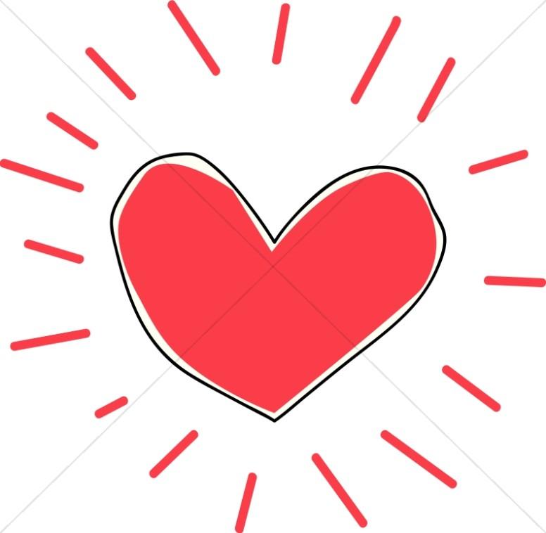 776x758 Christian Heart Clipart