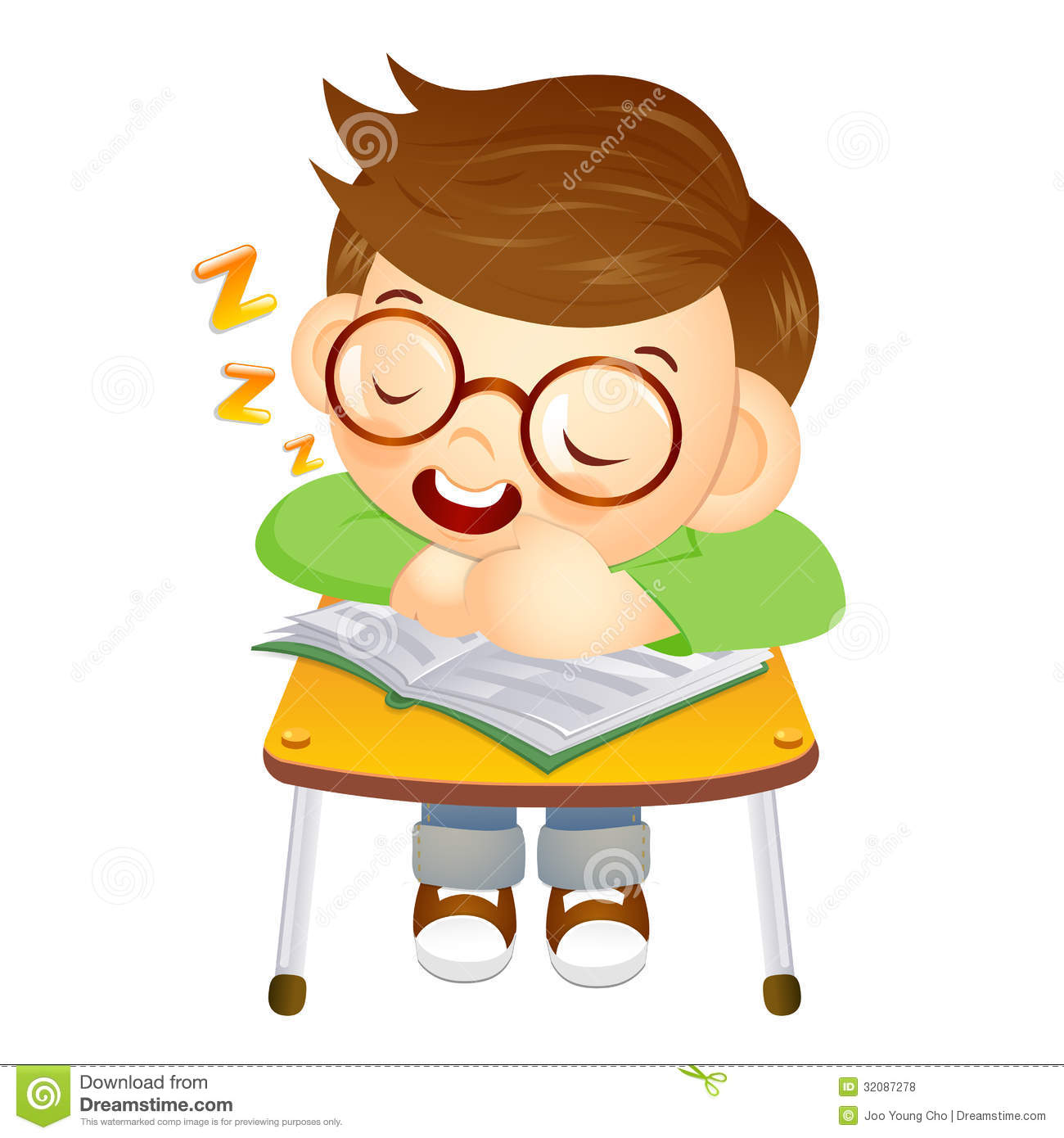 1300x1390 Student Falling In Chair Clipart