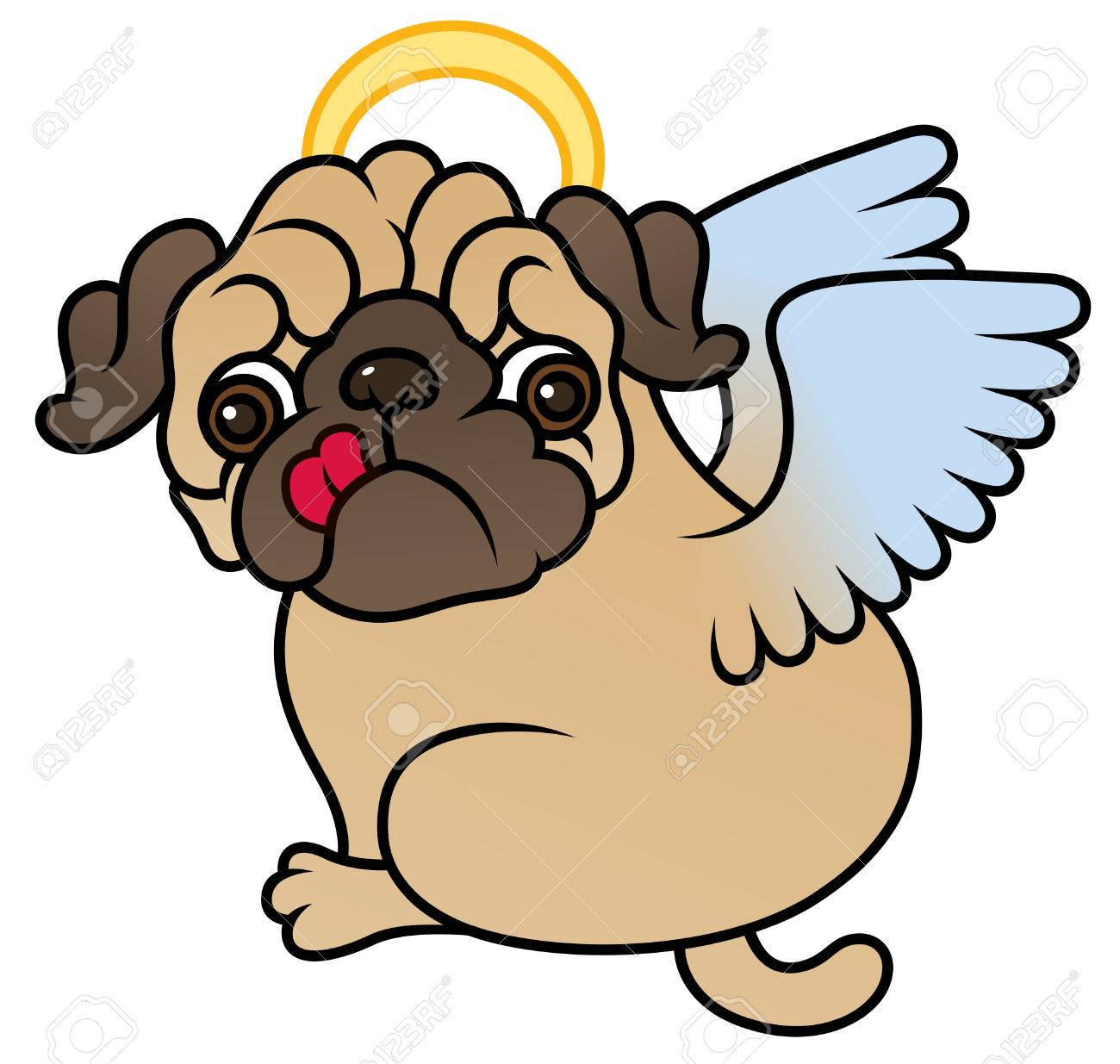 1300x1235 Free Angel Dog Clip Art Image Sweet The Graphics Fairy Wings