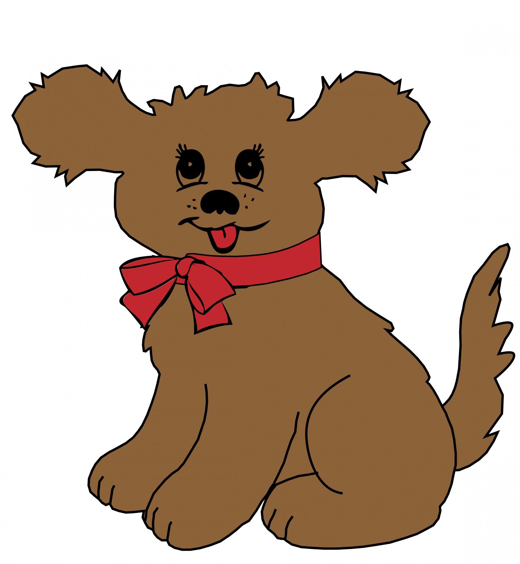 1769x1920 Puppy Dog Cartoon Clipart Free Stock Photo