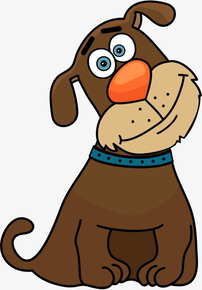 650x932 Cartoon Brown Dog, Puppy, Pet, Comics Png Image And Clipart