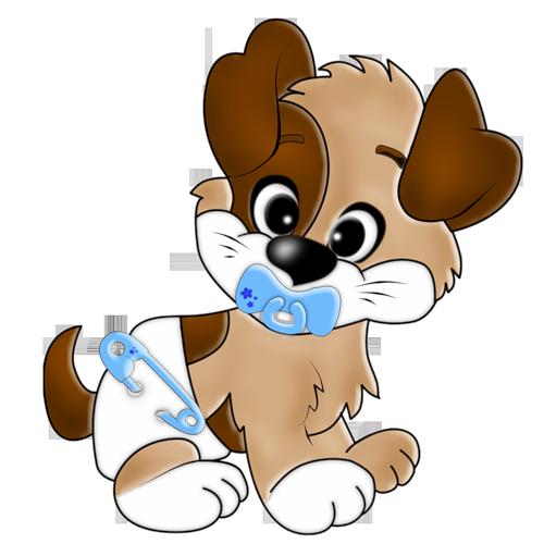 500x500 Cartoon Filii Clipart Clip Art, Dog And Babies