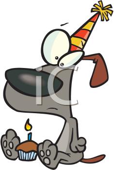 235x350 Dog With A Teeny Tiny Birthday Cake Aww Cute Animals