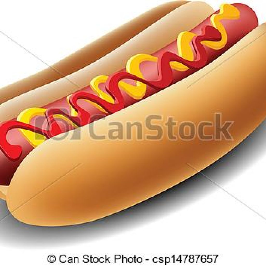 1024x1024 Hot Dog Clipart Happy Birthday Clipart