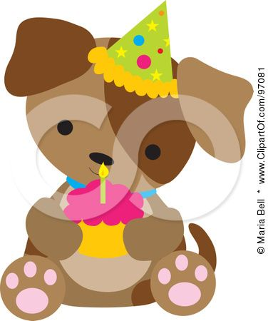 376x450 Royalty Free (Rf) Clipart Illustration Of A Brown Puppy Dog