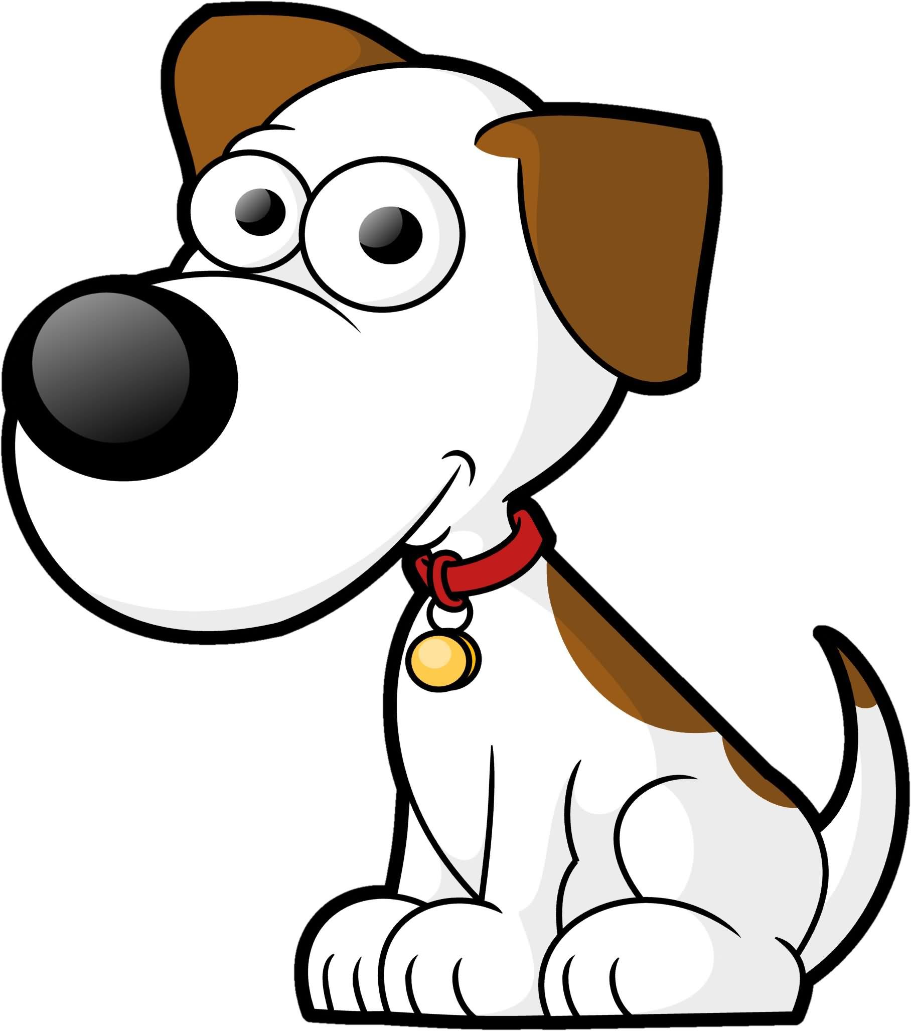 1816x2055 White Dog Very Sad Cartoon Image