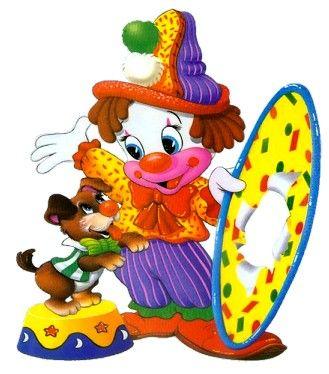 329x374 Clowns Clipart Patterns Scrapbook Birthday Clipart