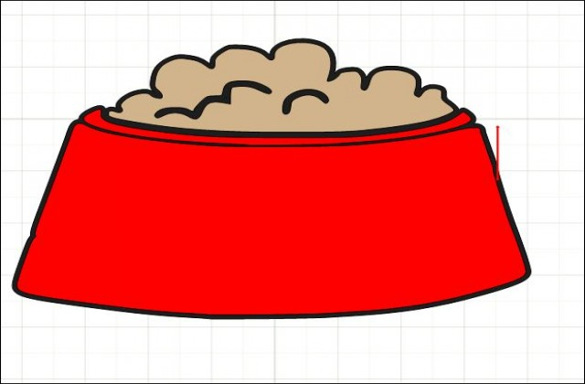 dog bowl clipart at getdrawings com free for personal use dog bowl rh getdrawings com dog bowl clipart free dog dish clipart