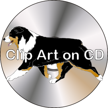376x376 Australian Shepherd Shop Argostar Dog Art