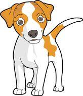 164x190 Cute Cartoon Dogs Clip Art Cartoon Dog Animai Images