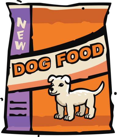 Dog Food Clipart
