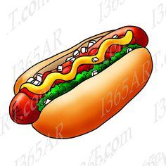236x236 Hot Dog Png Clip Art Image Clip Art Food Art