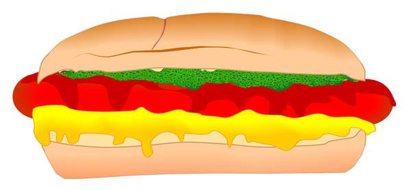 600x278 Hot Dog Clipart Hotdog Food Clip Art