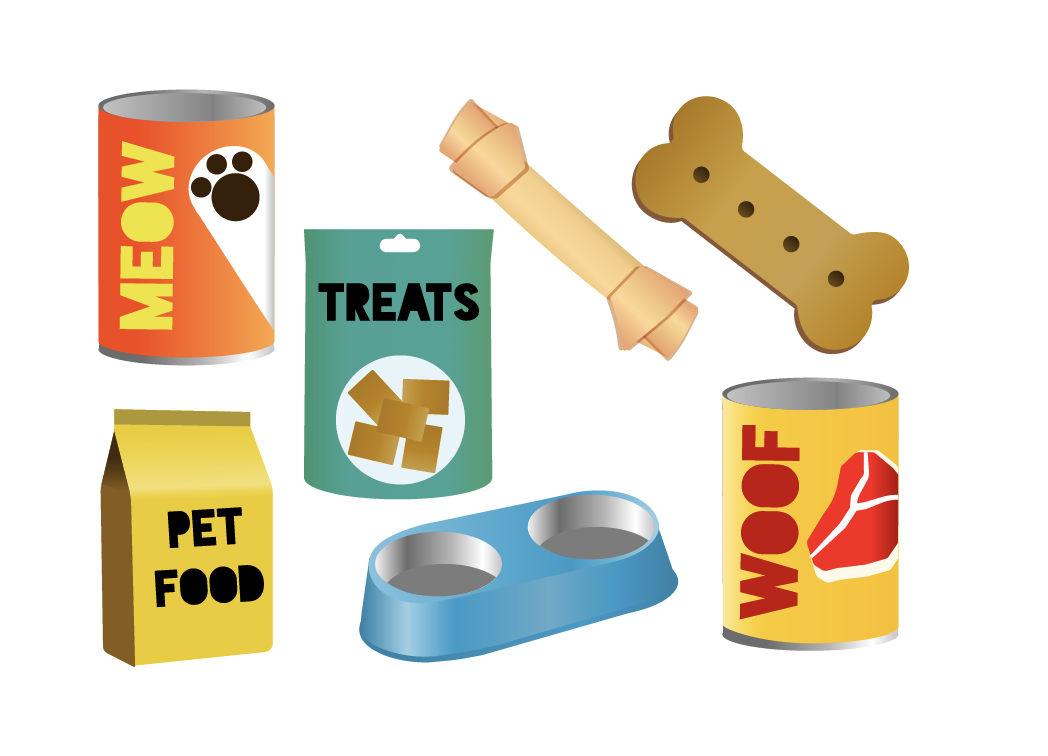 1048x756 Pet Food Clipart