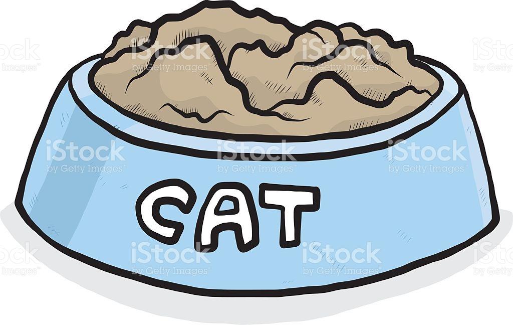 1024x648 Clip Art Cat Bowl Dog Food Clipart