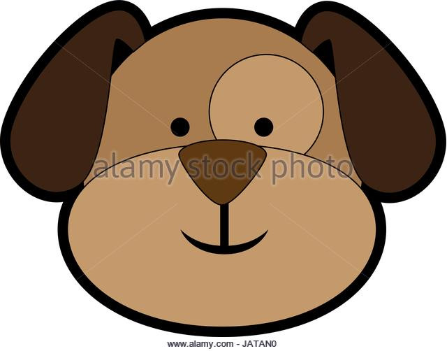 Dog Head Clipart