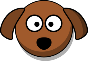 299x210 Dog Head Cartoon Clip Art