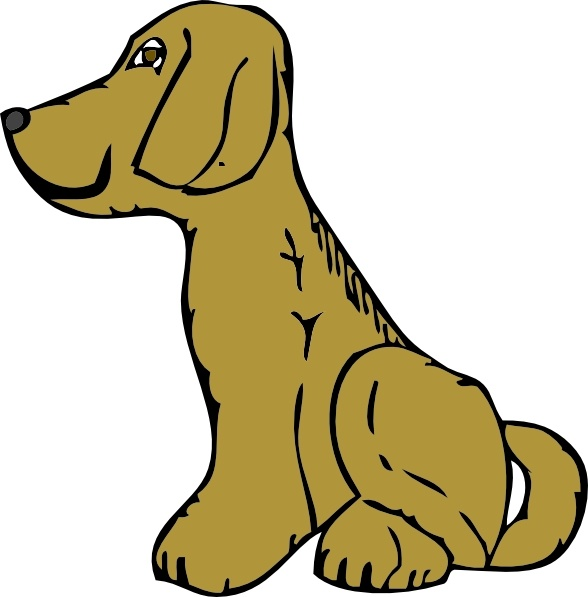 588x597 Collection Of Dog Side View Clipart High Quality, Free