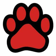 Dog Paw Print Clipart