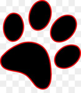 260x300 Dog Paw Cougar Drawing Clip Art