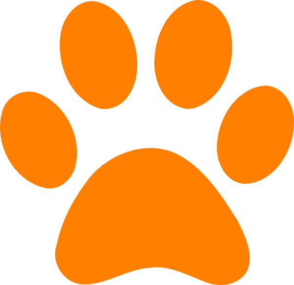 600x583 Dog Paw Print Clip Art Free Download Clipart Panda