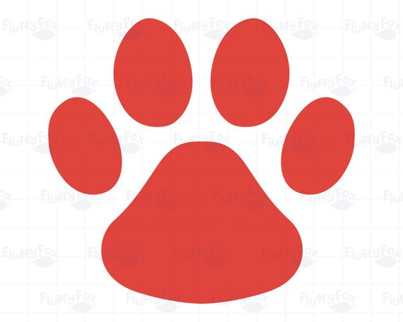 dog paw print clipart at getdrawings com free for personal use dog