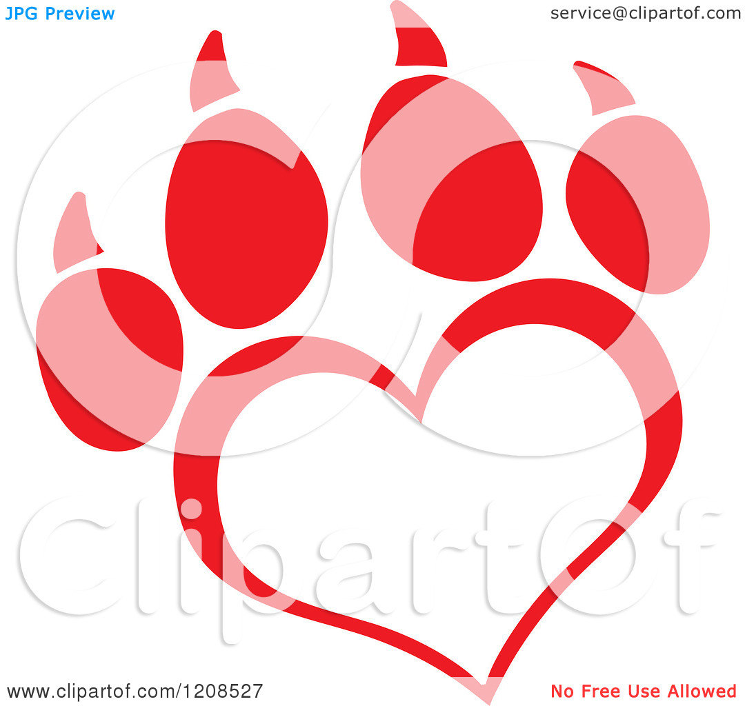 Dog Paw Print Clipart at GetDrawings com | Free for personal