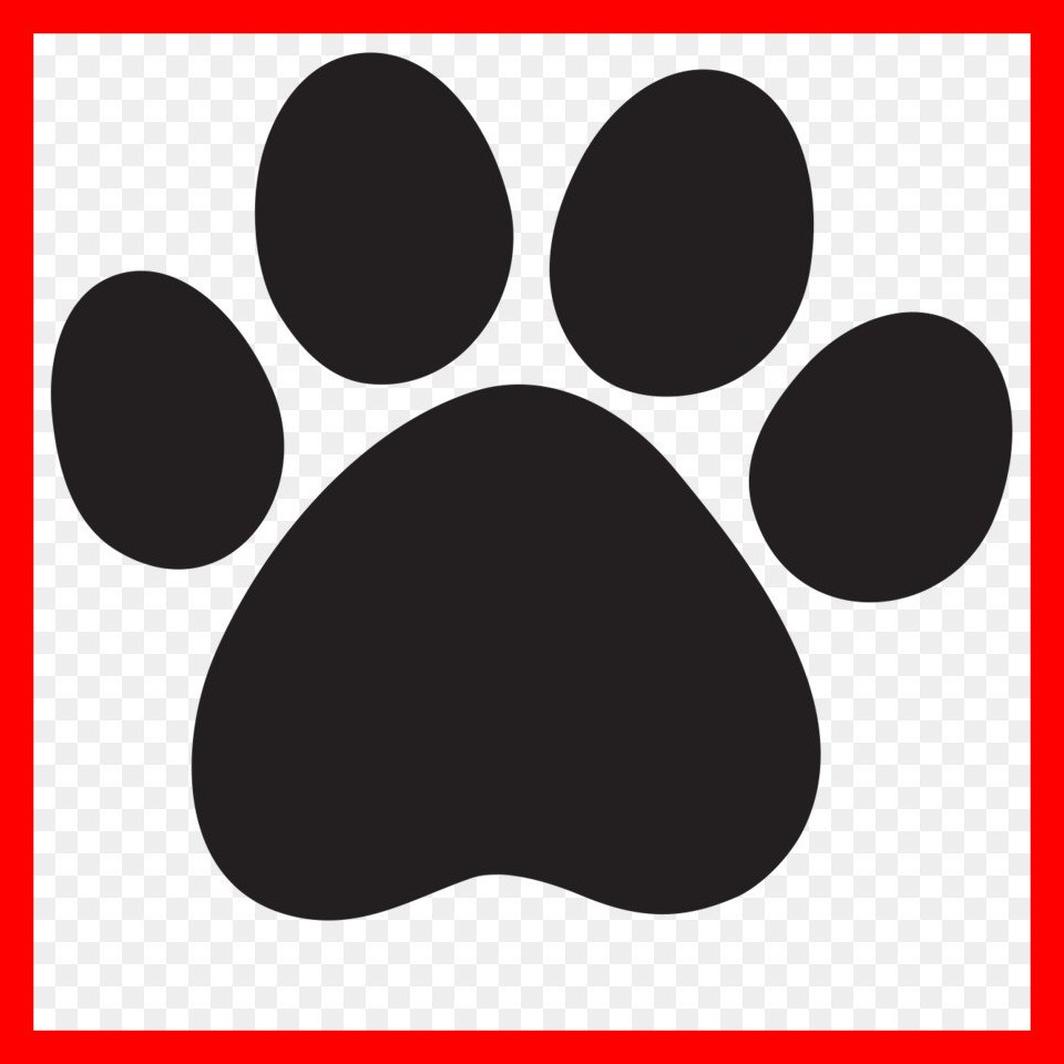 960x960 Cougar Paw Clipart