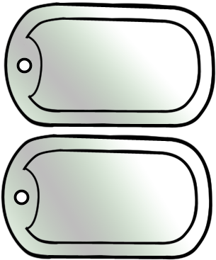305x367 27 Images Of Dog Tag Template Printable