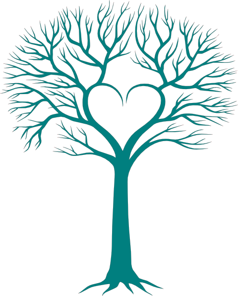 480x598 Family Tree With Heart Clip Art Clever Crafts
