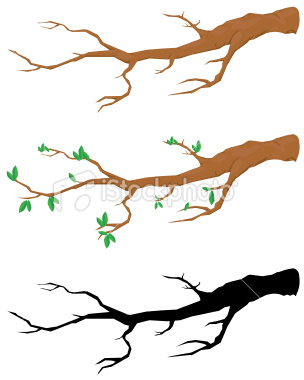 304x380 Winter Clipart Tree Branch
