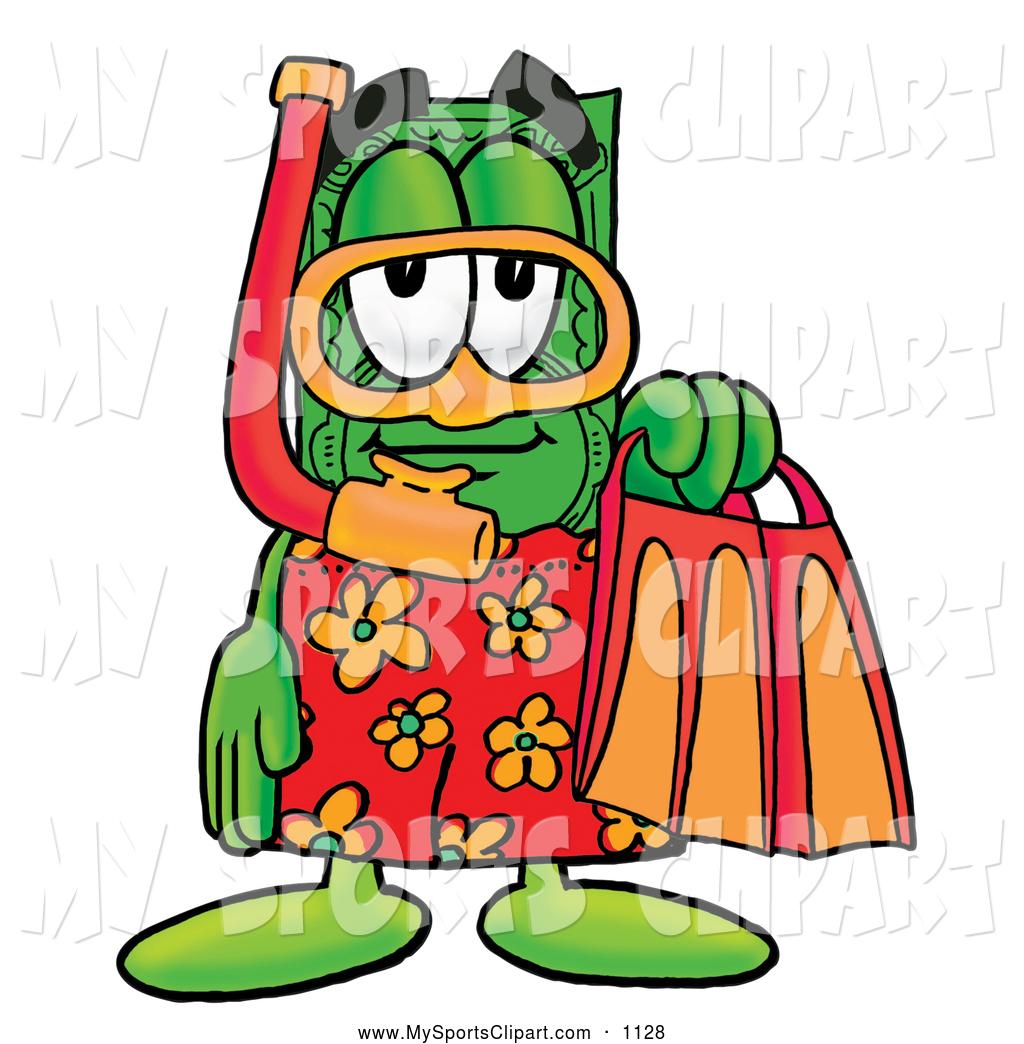 1024x1044 Sports Clip Art Of A Happy Dollar Bill Mascot Cartoon Character