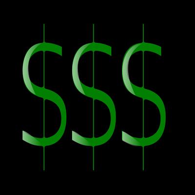 400x400 Dollar Clipart Green Dollar Sign Clipart Clipart Panda Free