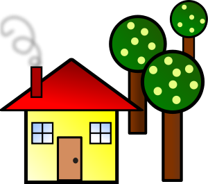 300x265 Free House Clipart Png, House Icons