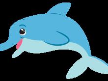220x165 Dolphin Clipart Dolphin Outline Grey Clip Art