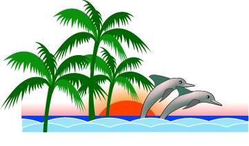 361x212 Dolphin Clipart Nature Scene 3233422