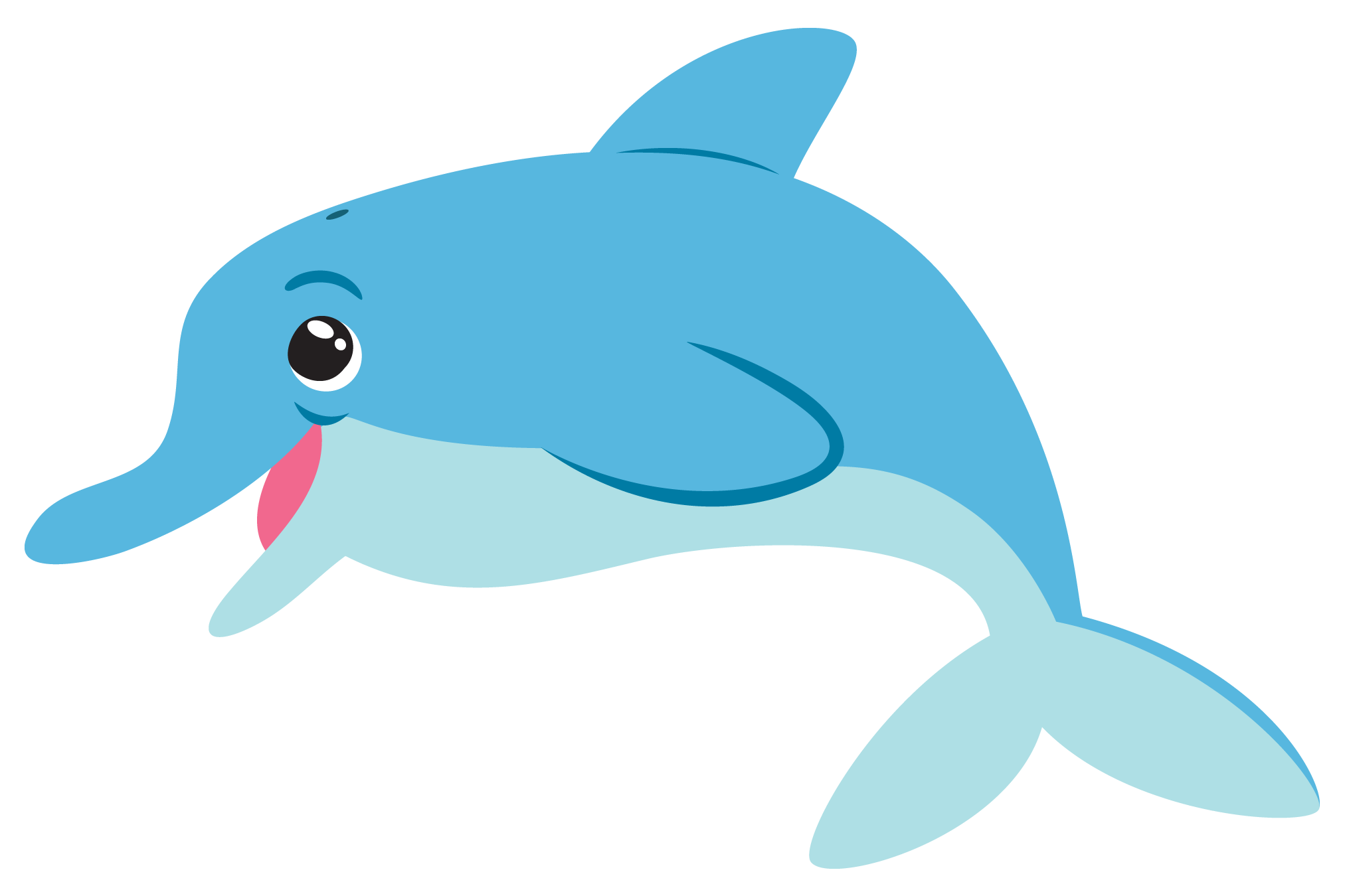 dolphin clipart for kids at getdrawings com free for personal use rh getdrawings com dolphin clipart free dolphin clipart black and white