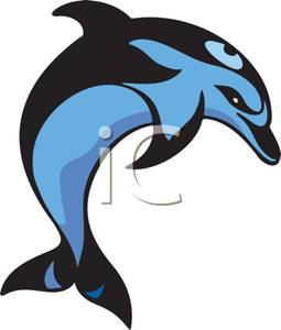 255x300 Dolphin Jumping Clipart