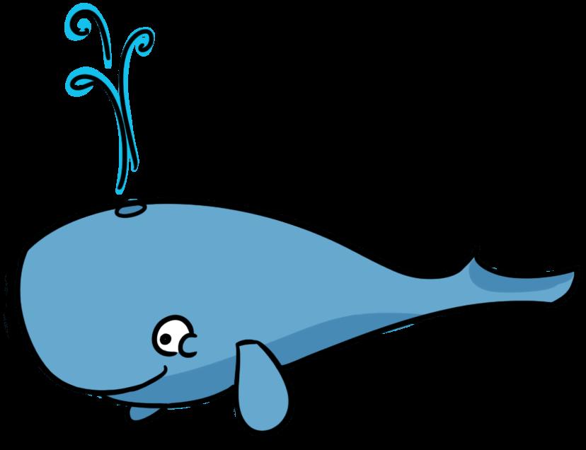 828x636 Valentine's Whale Cliparts