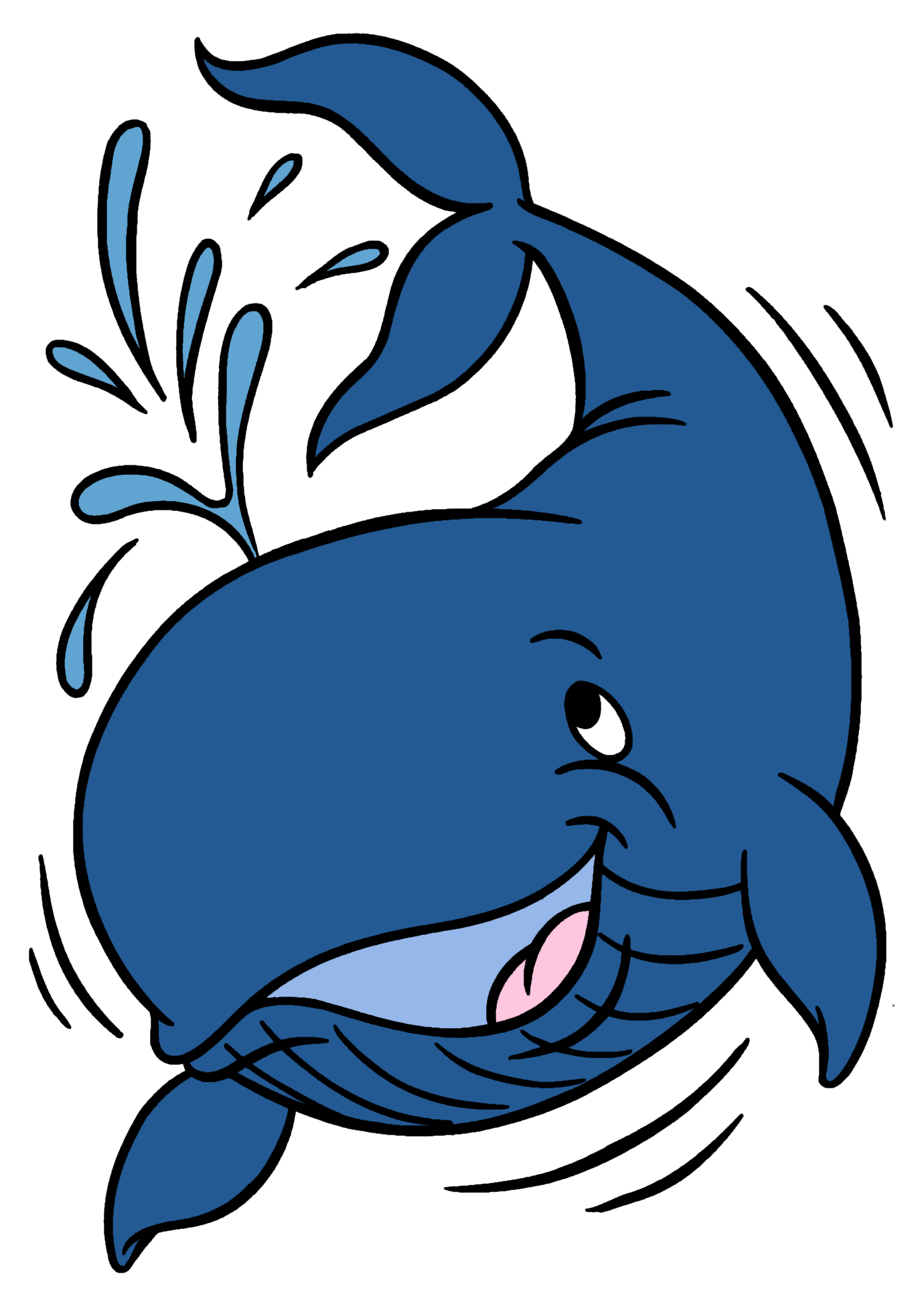 1380x1950 Whale Family Clipart Images On Page 0 Yanhe Clip Art