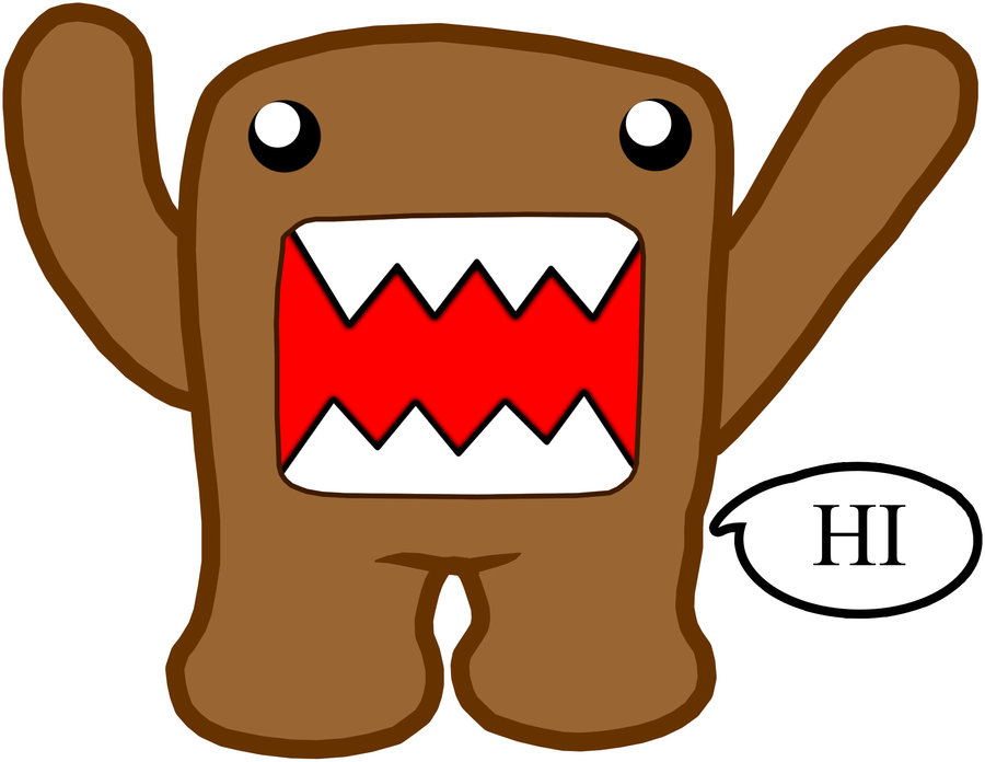 900x696 Collection Of Domo Cool Drawing High Quality, Free Cliparts