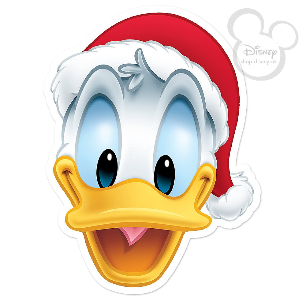 Donald Duck Christmas Clipart