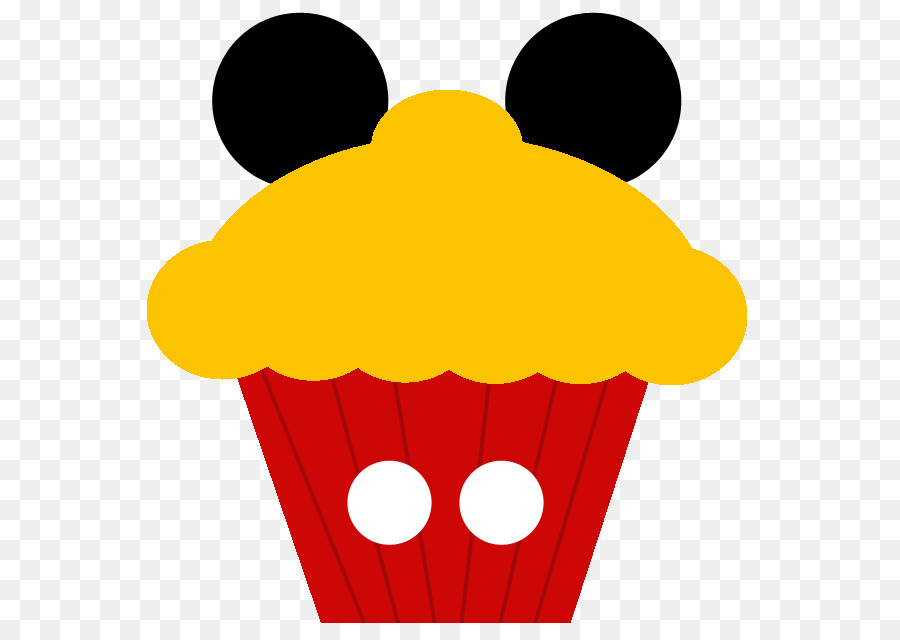 900x640 Mickey Mouse Minnie Mouse Donald Duck Cupcake Clip Art