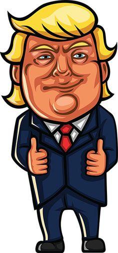 236x505 18 Free Donald Trump Clipart Cartoons Donald Trump And Cartoon